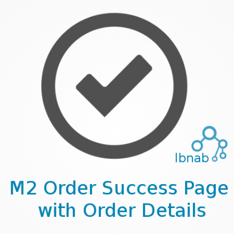 Magento2 Order Success Page with Order Details