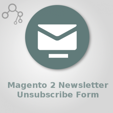 Magento 2 Newsletter Unsubscribe Form