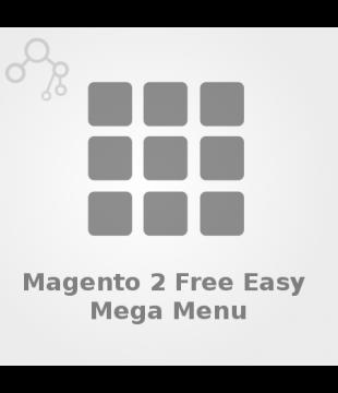 Free Magento 2 Easy MegaMenu