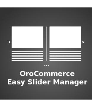 OroCommerce Easy Slider