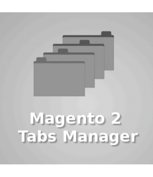 Magento 2 Tabs Manager (with product detail tab support)